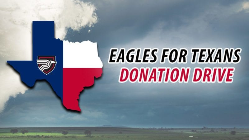 Eagles for Texas Donation Drive