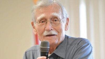 Florida Poet Laureate Peter Meinke