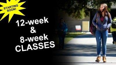 12 8 week classes