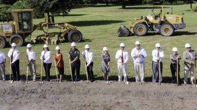 The Polk State Center for Public Safety is officially underway after Thursday's groundbreaking ceremony.
