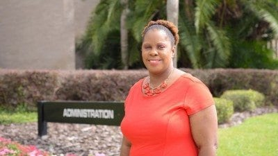 Yulonda Bell is the associate dean of student services at Polk State Winter Haven.