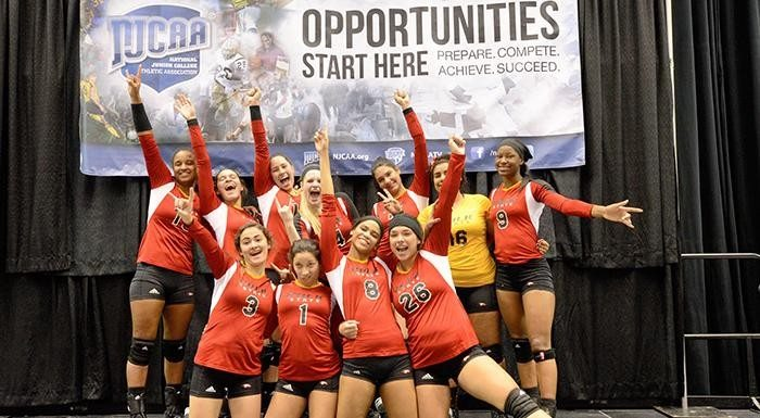 The Polk State volleyball team finished its historic season ranked No. 10 in the nation Saturday.