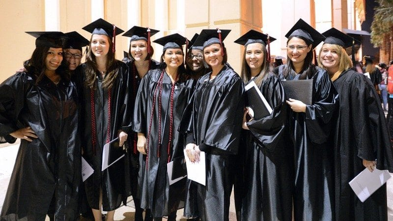 Polk State Associate in Science degree program graduates lead the state in employment and wages, according to a recently released report.