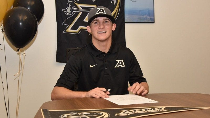 Polk State Chain of Lakes Collegiate High School senior Austin Taylor will attend the U.S. Military Academy Preparatory School in West Point, N.Y., on a baseball scholarship.