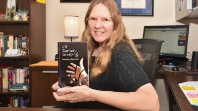 """Professor Mary Ann Murdoch has published her first book, """"Of Earnest Grasping."""""""