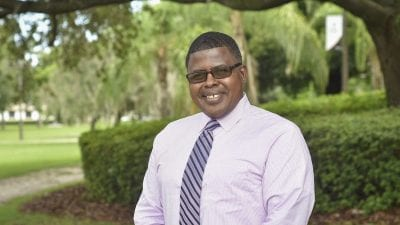 Polk State Chain of Lakes Collegiate High School Assistant Principal Keith Bonney