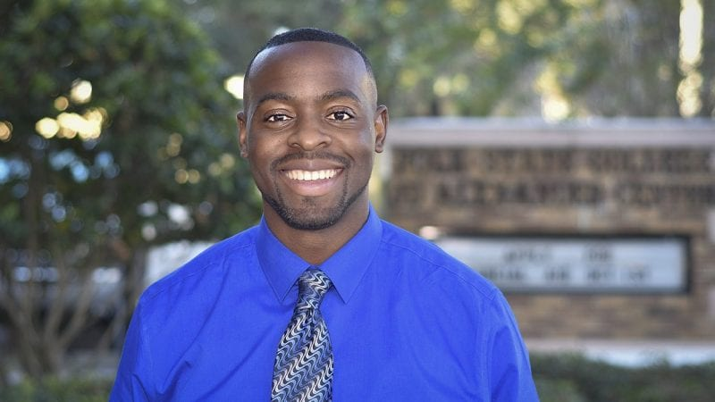 Andy Oguntola has been named the new director of the Polk State JD Alexander Center in Lake Wales.