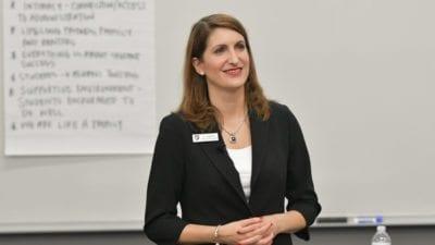 Dr. Angela Falconetti Presidential Forum