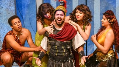 """A Funny Thing Happened On The Way To The Forum."" Winter Haven, Fla. April 19, 2019. (Photo by Tom Hagerty, Polk State.)"