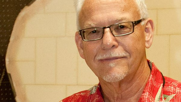 Art Professor Gary Baker, who retired from Polk State in late 2013 after 37 years of teaching. Baker died earlier this week at age 66.