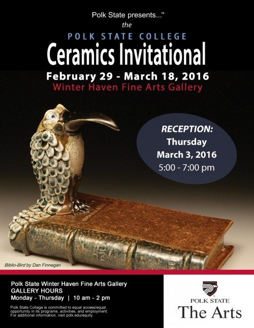 Ceramics invitational flier 160303