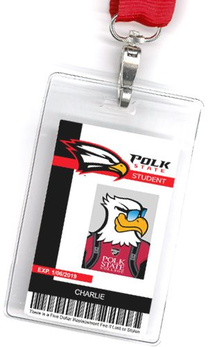 Id Student Card College State Polk