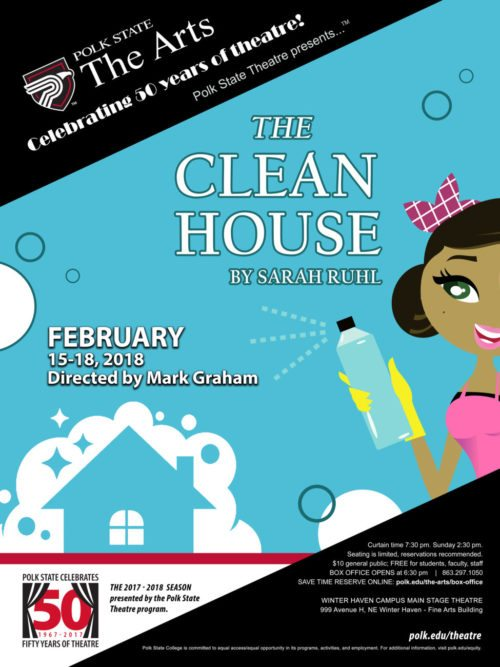 A clean house theatre poster