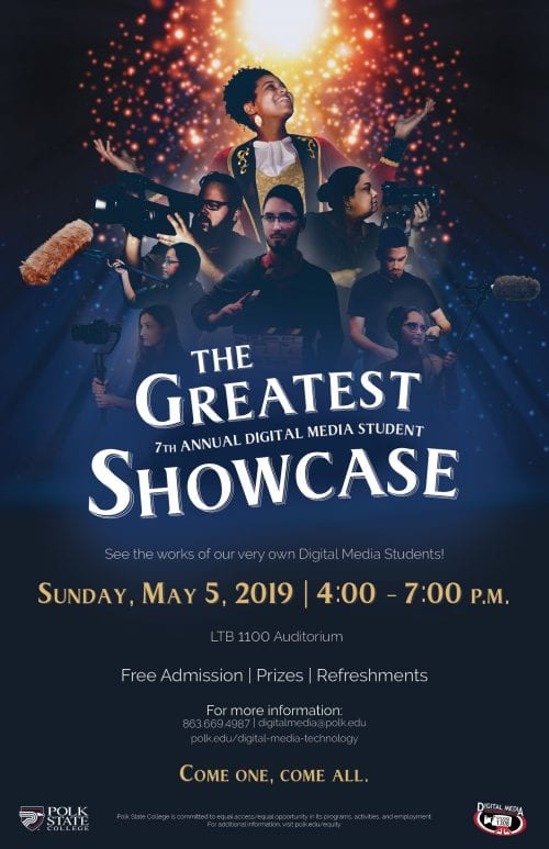 Digital Media Showcase 2019