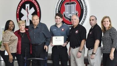 Jesse Stine Memorial Scholarship for Future Paramedics