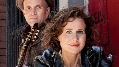 Actress Libby Skala and mandolinist Steven May will perform at Polk State College on March 12, 20 and 21.