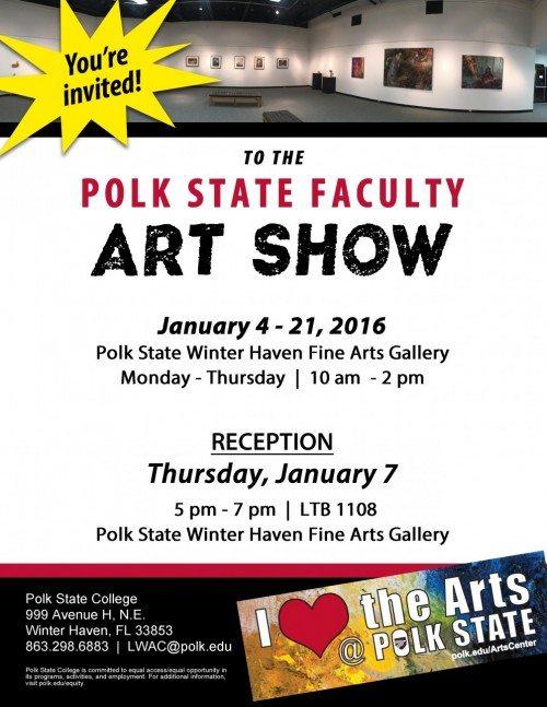 Faculty art show 160105