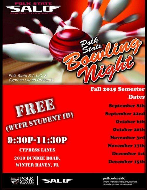 Fall 2015 Bowling Nights