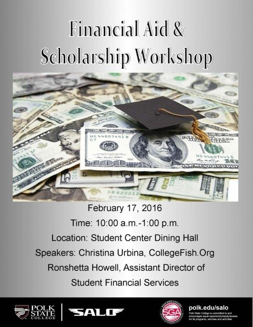 Financial Aid and Scholarship Workshop