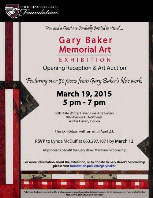 Gary Baker 8x11 Invite