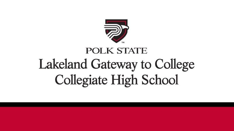 Polk State Lakeland Gateway to College Collegiate High School