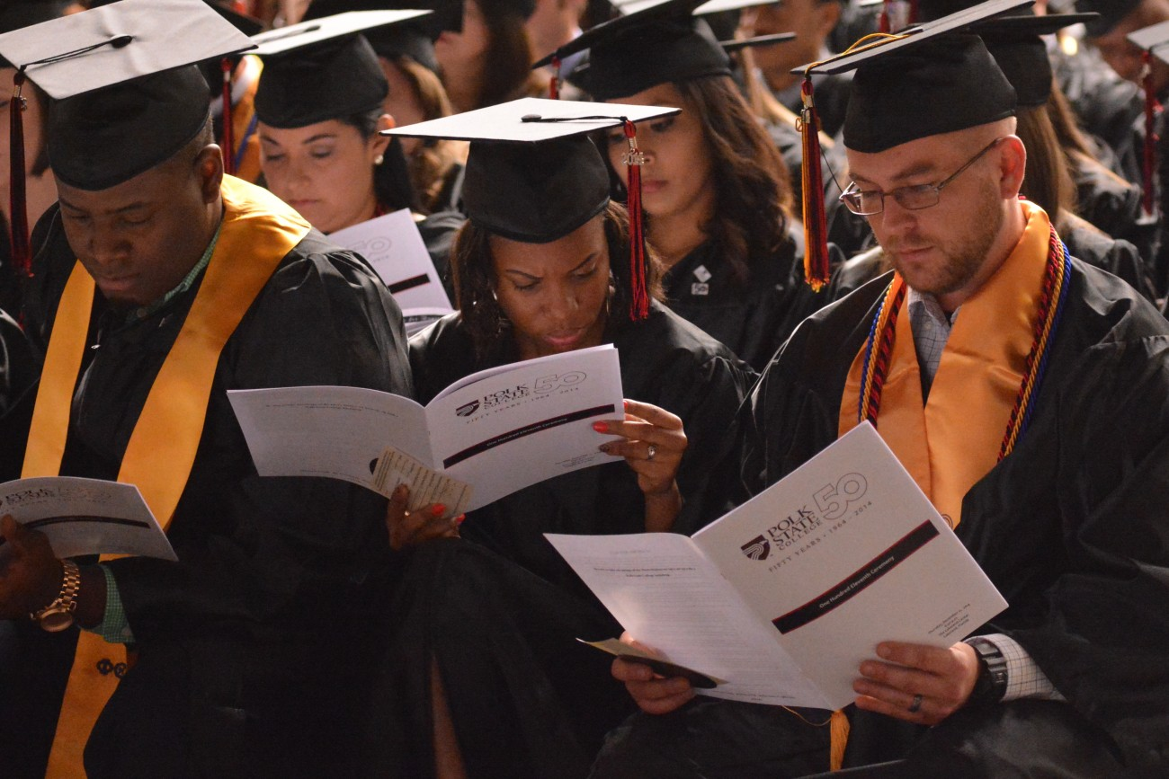 graduation polk state college graduation