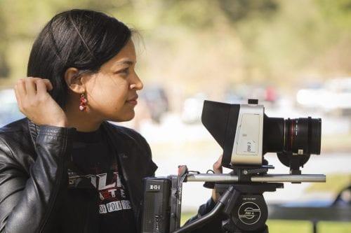 Camera assistant using 4K camera