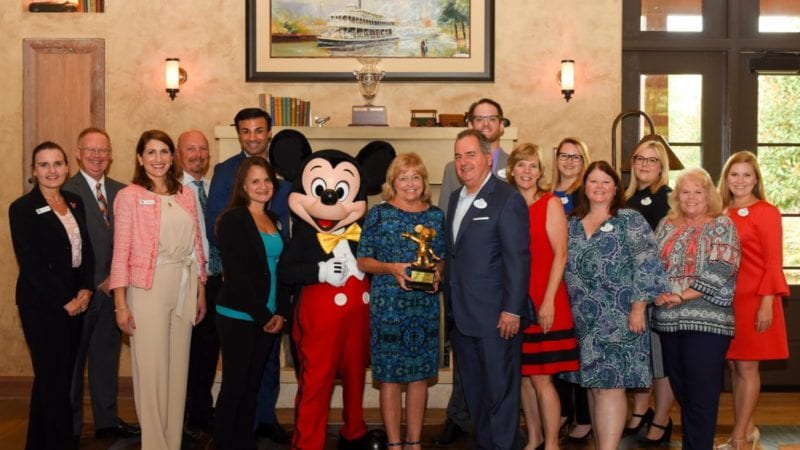 Walt Disney World honors Polk State President Emerita Eileen Holden