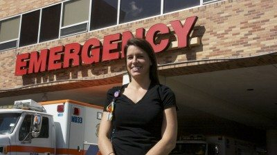 Renee Heacock is a graduate of Polk State and a nurse in the emergency department of Lakeland Regional Medical Center.
