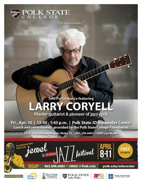 Larry_Coryell_JazzFest_Performance_20150323