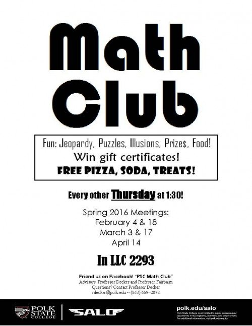 Math Club Flyer Spring lkd