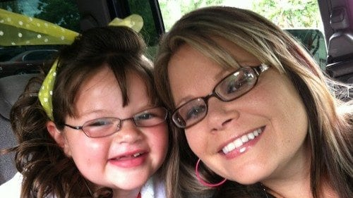 Melissa Hooks and her daughter, Brianna