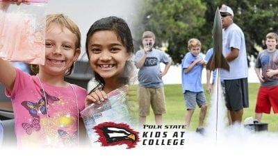 Polk State Kids at College