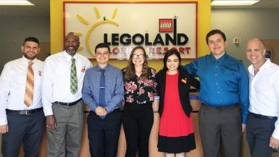 LEGOLAND Florida Resort interns and executives