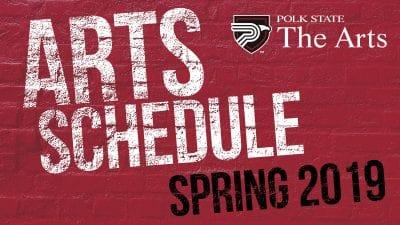 Arts Schedule