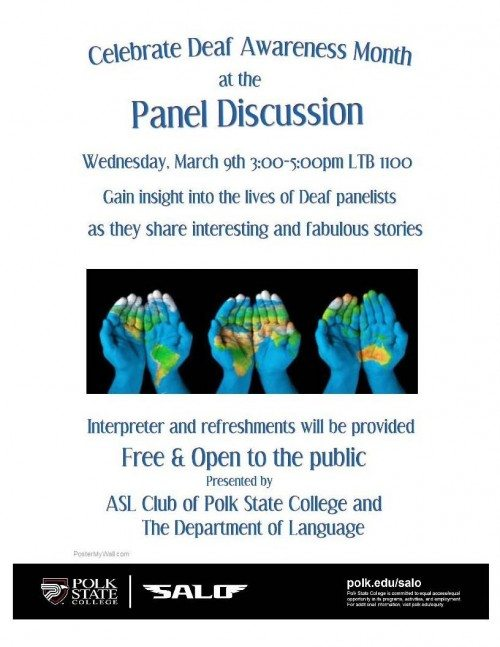 Panel Discussion ASL