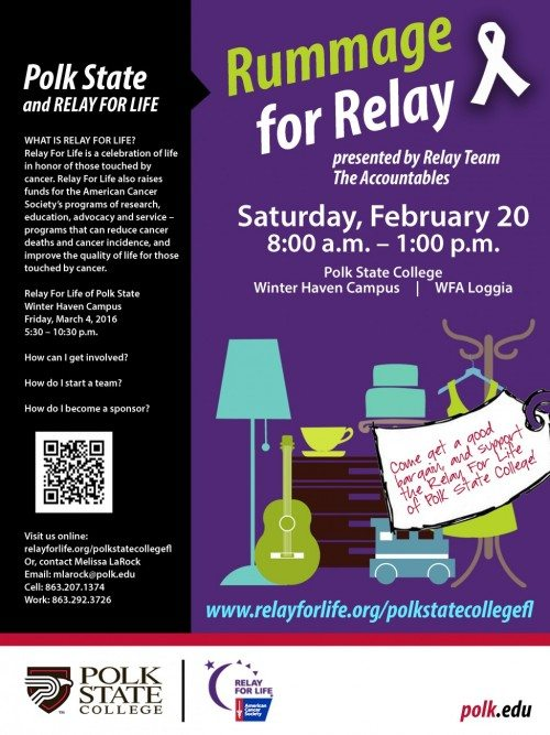RUMMAGE FOR RELAY 2016
