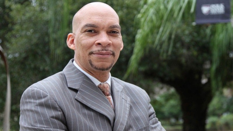 Reggie Webb, Polk's new vice president of student services.