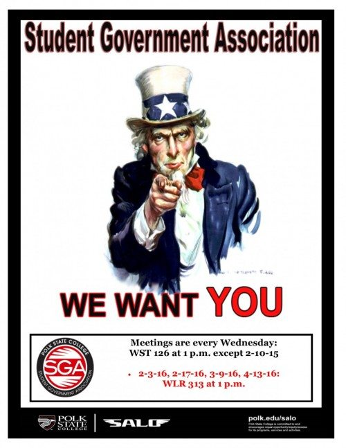 SGA General Meeting Flyer Sp16