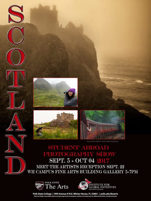 study abroad photography poster