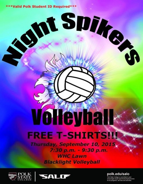Spikers flyer