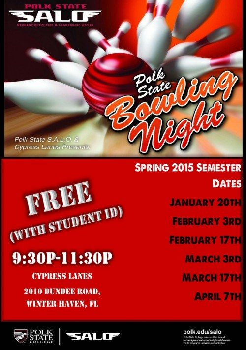 Spring 2015 Bowling Nights