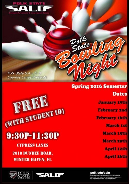 Spring 2016 Bowling Nights