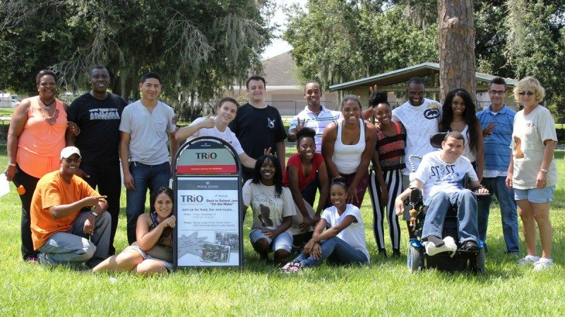 Polk State TRiO hosted a Back to School Jam for students in September at Winter Haven Moose Lodge 1023.