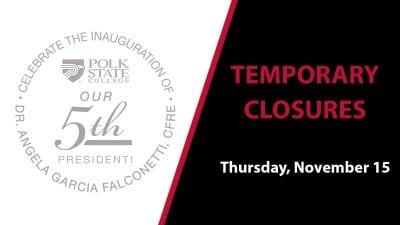 Temporary Closures