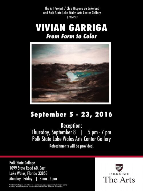Vivian Garriga poster 160822