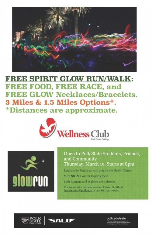 Wellness Club Glow Run