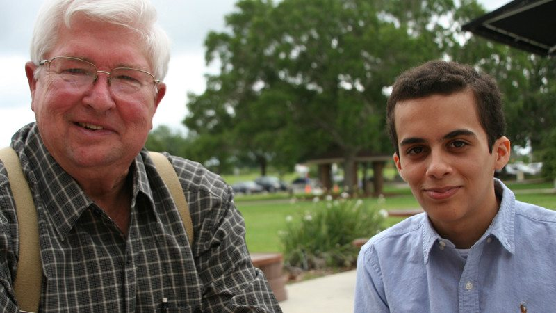Charles Walker, 69, and Alex Manjarres, 15, will be the oldest and youngest graduates at Polk State's upcoming commencement ceremony.
