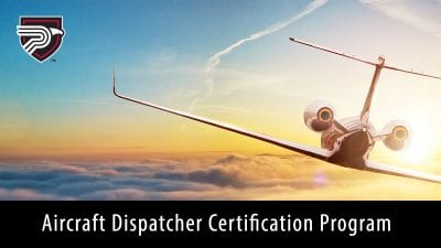 Aircraft dispatcher certification program