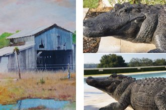 The work of artists Tom Freeman and David Price will be on display at Polk State Winter Haven beginning Jan. 2.